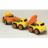 Small World Toys <br />Tailgate Trio Construction Vehicles
