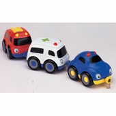 Small World Toys <br />Tailgate Trio Emergency Vehicles
