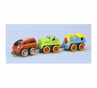 Small World Toys <br />Tailgate Trio Locomotives Vehicles