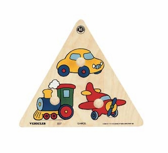 Small World Toys <br />Vehicles Wood Puzzle