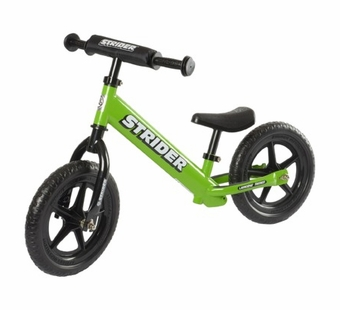 Strider <br />Green Balance Bike