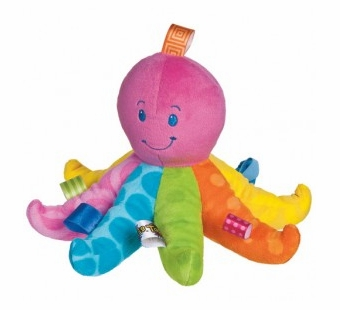Taggies <br />Colours Soft Octopus