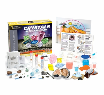 Thames & Kosmos <br />Crystals, Rocks and Minerals Science Kit