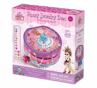 The Orb Factory <br />Fancy Nancy Sticky Mosaics Fancy Jewelry Box Kit