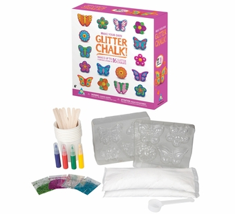 The Orb Factory <br />Make Your Own Glitter Chalk Kit