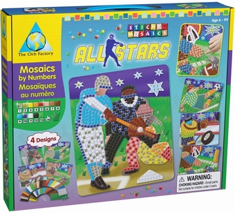 The Orb Factory <br />Sticky Mosaics All-Stars Kit