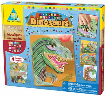 The Orb Factory <br />Sticky Mosaics Dinosaurs Kit