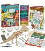 The Young Scientists Club <br />Back in Time with the Dinosaurs Science Kit