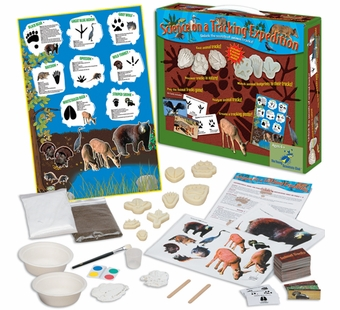 The Young Scientists Club <br />Science on a Tracking Expedition Kit