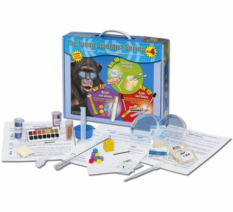 The Young Scientists Club <br />Set 4: Bacteria & Fungi, Weight & Volume, Acids & Bases Kits