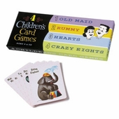 Think Fun <br />4 Kid's Card Games