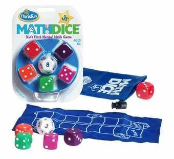 Think Fun <br />Math Dice Junior Game