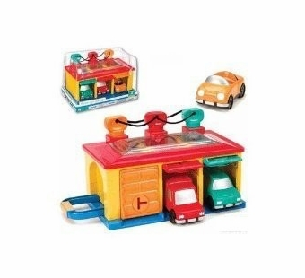 Toysmith <br />3 Car Garage Playset