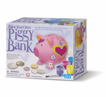 Toysmith <br />Paint Your Own Piggy Bank