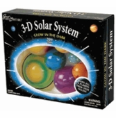 University Games <br />3-D Glow in the Dark Solar System
