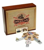 University Games <br />Mexican Train Dominoes