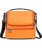 Wildkin <br />Bengal Orange Double Decker Lunch Bag