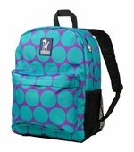 Wildkin <br />Big Dots Aqua Crackerjack Backpack