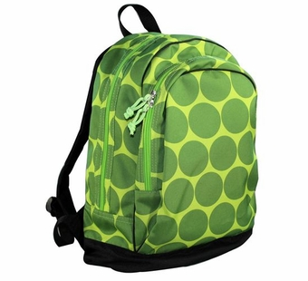 Wildkin <br />Big Dots Green Backpack