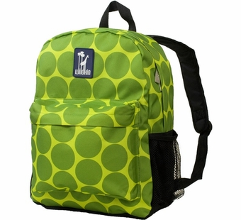 Wildkin <br />Big Dots Green Crackerjack Backpack