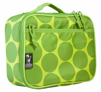 Wildkin <br />Big Dots Green Lunch Box