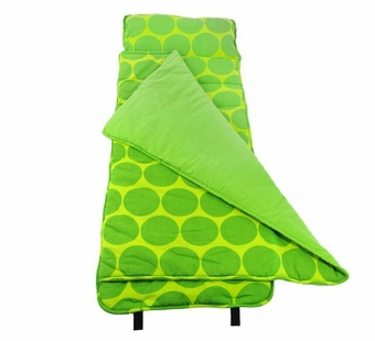Wildkin <br />Big Dots Green Nap Mat