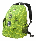 Wildkin <br />Big Dots Green Serious Backpack