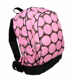 Wildkin <br />Big Dots Pink Backpack