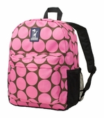 Wildkin <br />Big Dots Pink Crackerjack Backpack