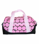 Wildkin <br />Big Dots Pink Duffel Bag