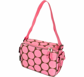Wildkin <br />Big Dots Pink Keep it Cooler Lunch Box