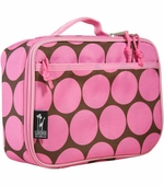 Wildkin <br />Big Dots Pink Lunch Box
