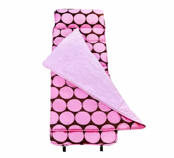 Wildkin <br />Big Dots Pink Nap Mat