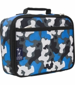 Wildkin <br />Blue Camo Lunch Box
