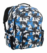 Wildkin <br />Blue Camo Macropak Backpack