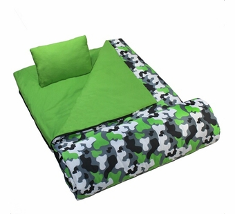 Wildkin <br />Camoflauge Sleeping Bag