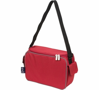 Wildkin <br />Cardinal Red Keep it Cooler Lunch Box