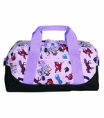 Wildkin <br />English Riding Purple Duffel Bag