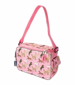 Wildkin <br />Horses in Pink Keep it Cooler Lunch Box