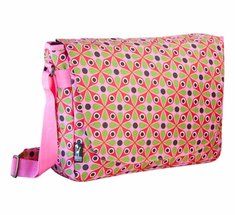Wildkin <br />Kaleidoscope Laptop Messenger Bag