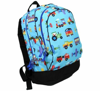 Wildkin <br />Olive Kids Trains, Planes & Trucks Backpack