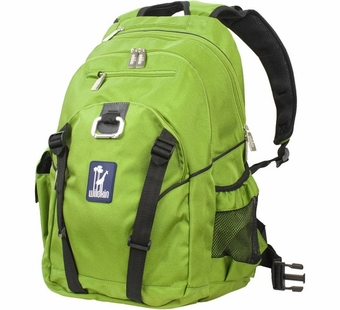 Wildkin <br />Parrot Green Serious Backpack