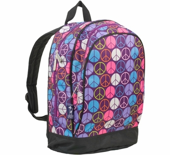 Wildkin <br />Peace Signs (purple) Backpack