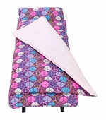 Wildkin <br />Peace Signs (purple) Nap Mat