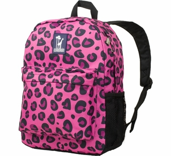 Wildkin <br />Pink Leopard Crackerjack Backpack