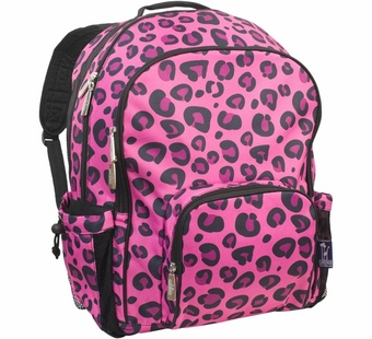 Wildkin <br />Pink Leopard Macropak Backpack