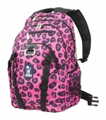 Wildkin <br />Pink Leopard Serious Backpack