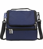 Wildkin <br />Whale Blue Double Decker Lunch Bag