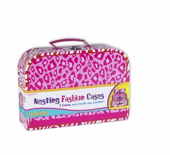 WJ Fantasy <br />Nesting Fashion Suitcases