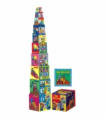 WJ Fantasy <br />Under Construction Blocks and Book Set
